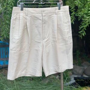 TASSO ELBA GOLF Beige Shorts Sz 34